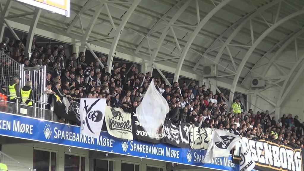 Kjernen på Aker stadion, 26. oktober 2013.