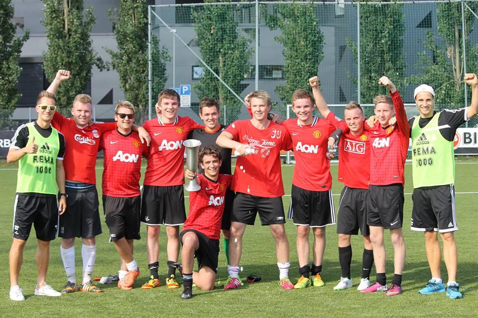 Sportsverein Ducks, vinnere av Kjernens supportercup 2014.