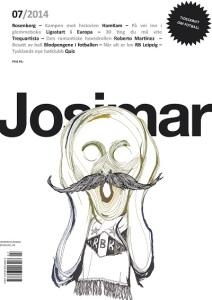 Forsiden av Josimar nr. 7/2014.