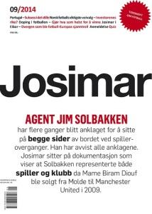 Forsiden av Josimar nr. 9/2014.