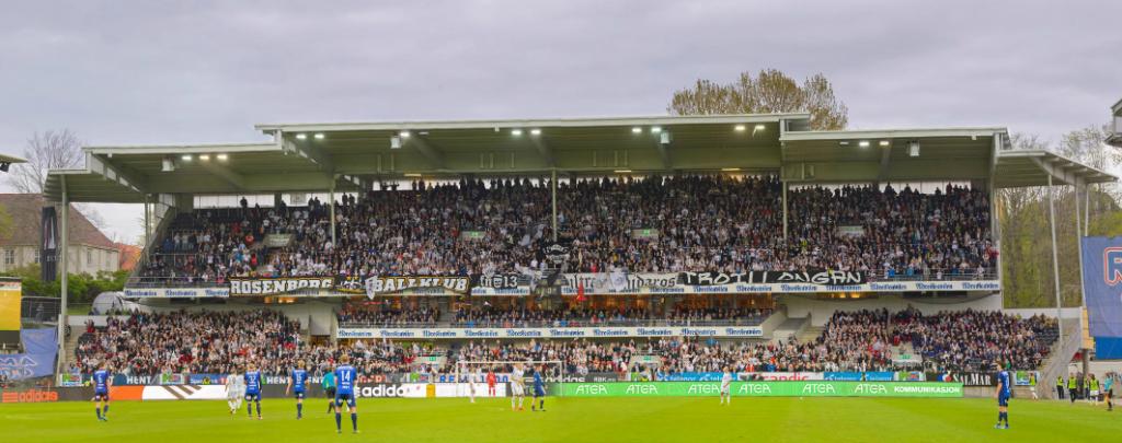 Tribune øst, 16. mai 2014, Rosenborg - Stabæk.