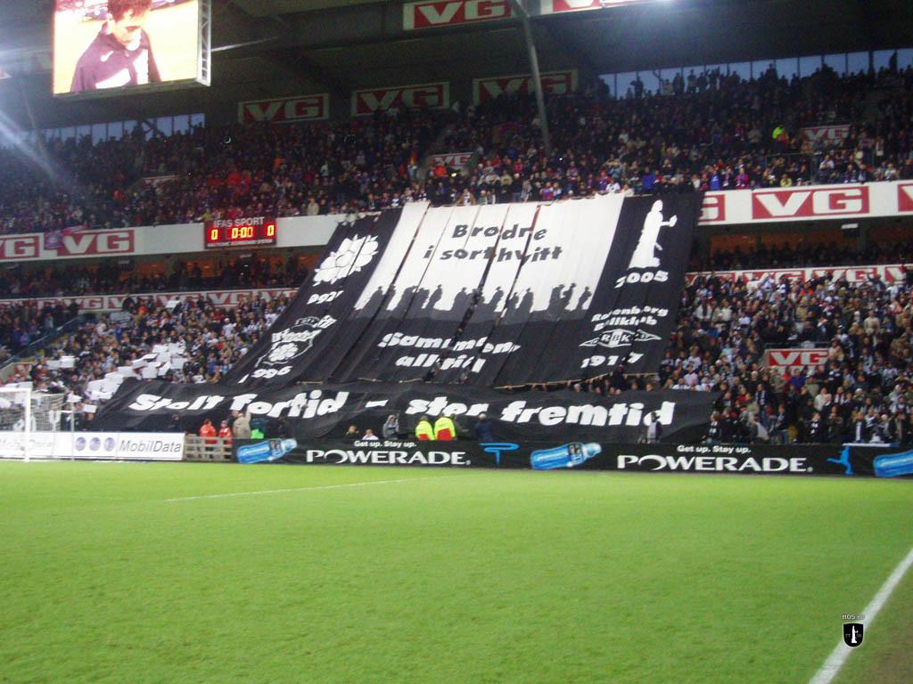 23. oktober 2005. Rosenborg vant 2-0 over Vålerengen foran 24 894 tilskuere på Ullevaal stadion.
