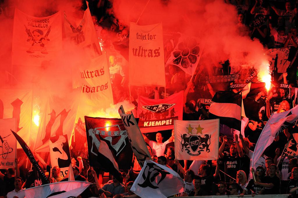 7. august 2011. Rosenborg vant 3-1 over Molde foran 17 656 tilskuere på Lerkendal stadion.