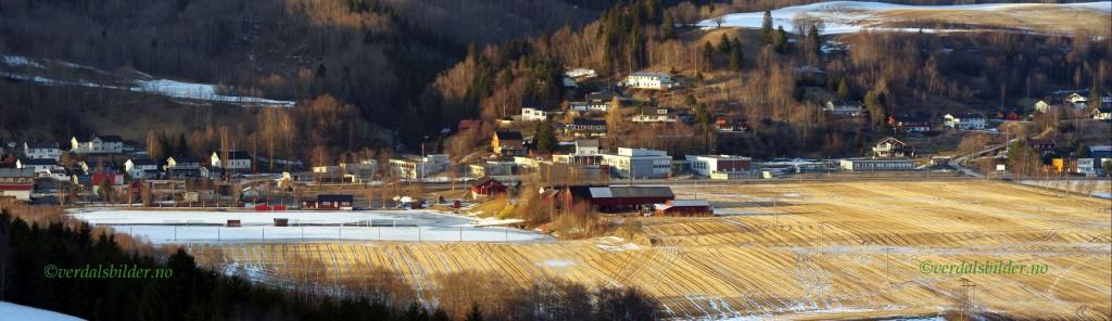 Vuku stadion. Foto: verdalsbilder.no.