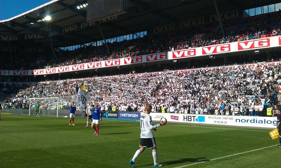 Bortesvingen på Ullevaal stadion, lørdag 6. juni 2015.