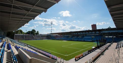 Östgötaporten, IFK Norrköpings hjemmearena. Foto: ifknorrkoping.se.